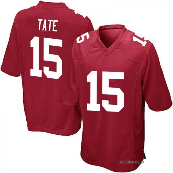 Golden Tate New York Giants Game Red Alternate Jersey