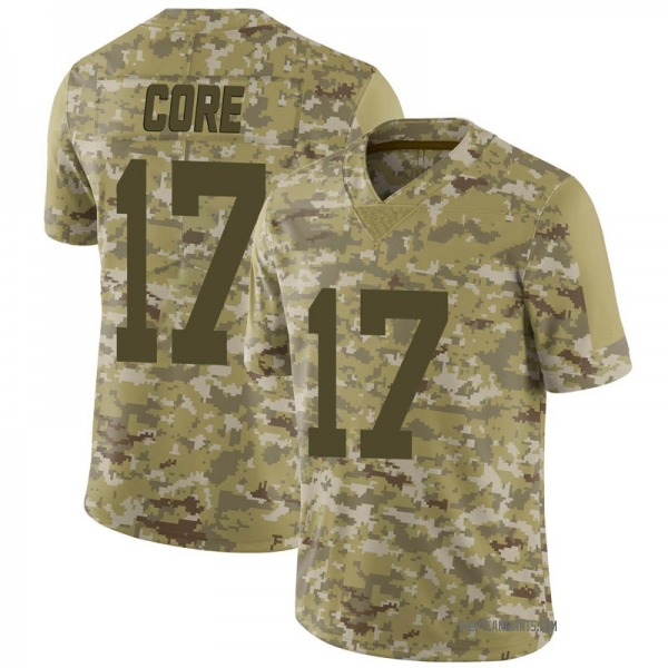 Men's Cody Core New York Giants Limited Camo 2018 Salute to Service Jersey